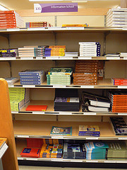 Textbooks on the Shelves