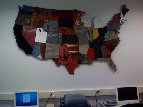 CHNM USA Map