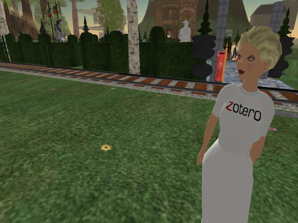 Zotero T-Shirt in SL, Front